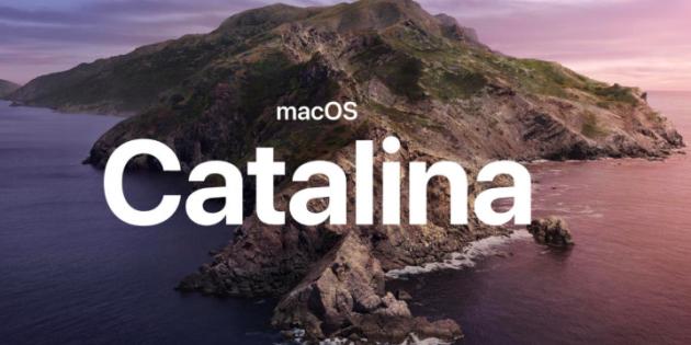 Nieuwe update macOS catalina